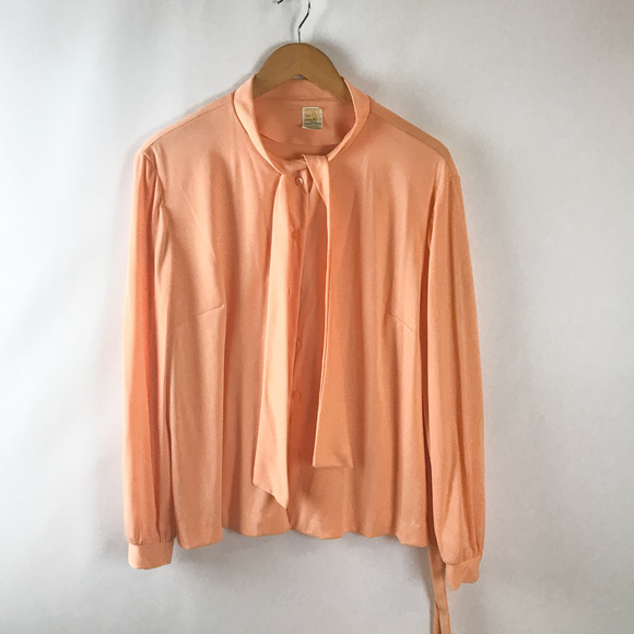 42892afc6eb209 Fortrell Tops | Womens Vintage Pussy Bow Blouse | Poshmark